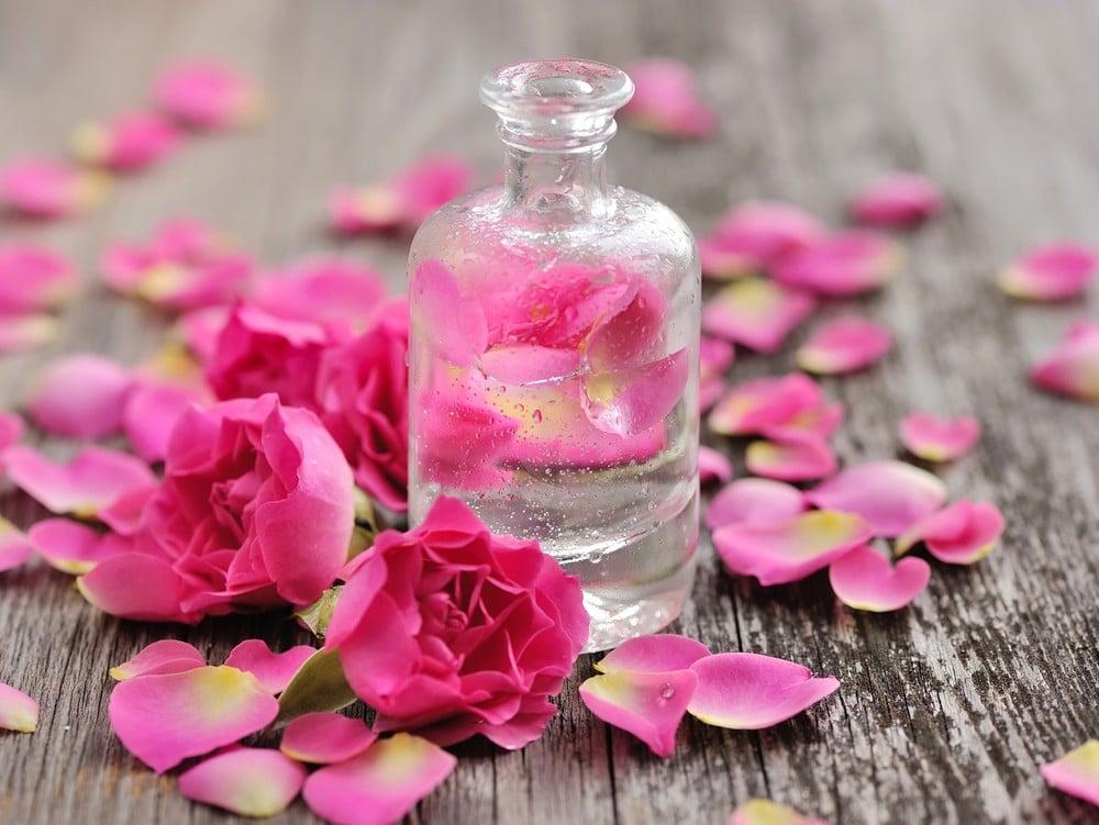 ماء الورد للبشرة الدهنية